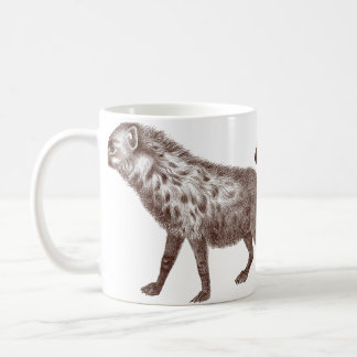 Two Spotted or Striped Hyenas Coffee Mugs