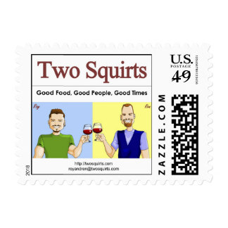 Two Squirts Stamps