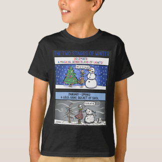 Two Stages of Winter T-Shirt