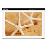"""Two Starfish 17"""" Laptop Skins"""