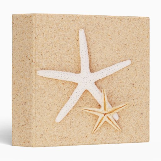 """Two Starfish 1.5"""" Photo Album Binder"""