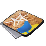 Two Starfish at the Beach Laptop Sleeves