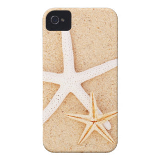 Two Starfish on a Beach iPhone 4 Covers
