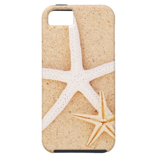 Two Starfish on a Beach iPhone SE/5/5s Case