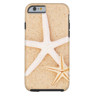 Two Starfish on a Beach Tough iPhone 6 Case
