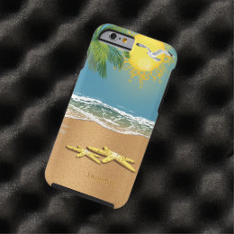 Two Starfish On The Beach Tough iPhone 6 Case