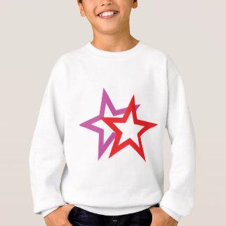 two stars icon sweatshirt