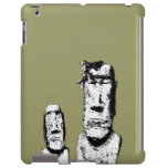 Two Stone Heads (the Eds) iPad Case
