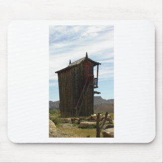 Two Stories with Stairs Mouse Pad