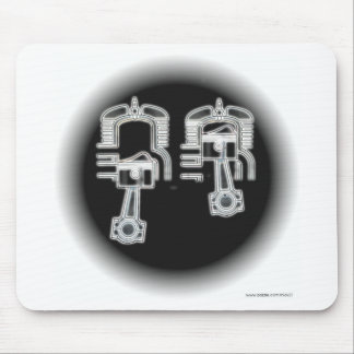 Two Stroke Engine Mouse Pad