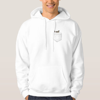 Two Sugar Gliders In Your Pocket Hoodie