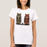 Two Sullen Cats T-Shirt