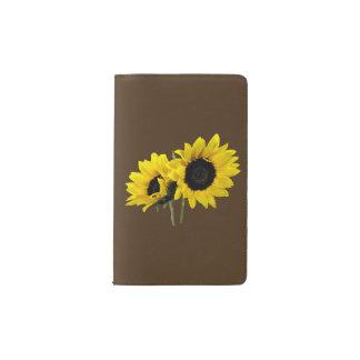 Two Sunflowers Pocket Moleskine Notebook