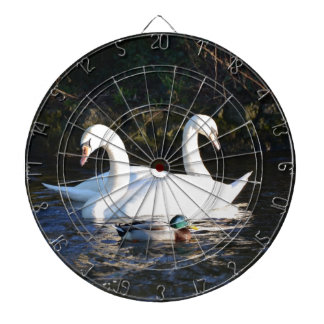 Two Swans And A Duck Dart Board