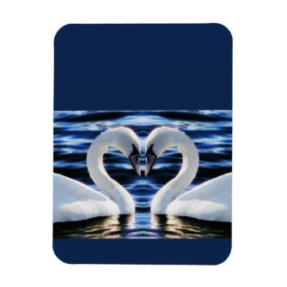 Two swans magnet