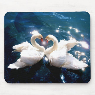 Two Swans Mouse Pad
