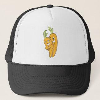 Two Sweet Carrot Lovers Trucker Hat