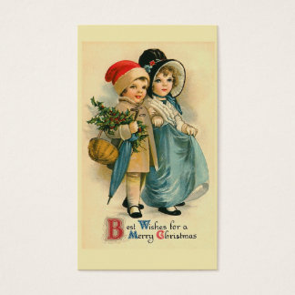 """Two Sweet Children"" Christmas Gift Tag"