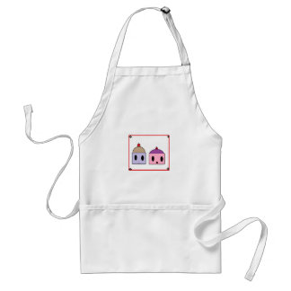 Two Sweet cupcakes Adult Apron
