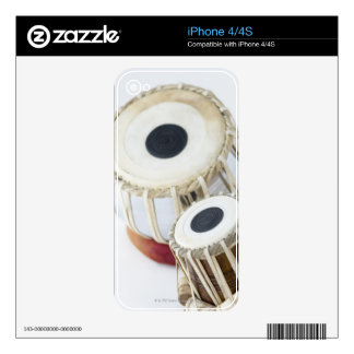 Two Tablas iPhone 4S Decals