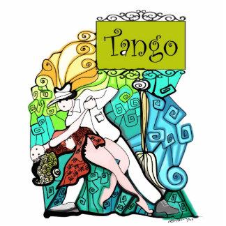 Two Tangueritos Tango Statuette