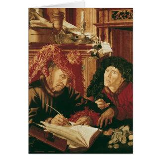 Two Tax Gatherers, c.1540 Card