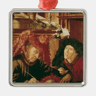 Two Tax Gatherers, c.1540 Metal Ornament