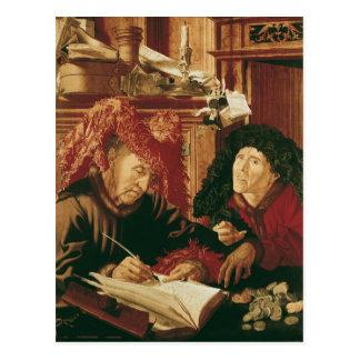 Two Tax Gatherers, c.1540 Postcard