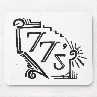 two tees mouse pad