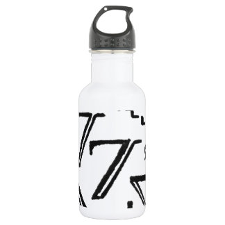 two tees stainless steel water bottle