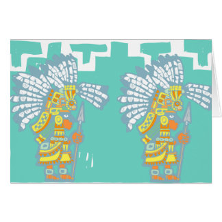 Two Teotihuacan Warriors #1 Card