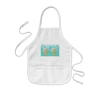 Two Teotihuacan Warriors #1 Kids' Apron