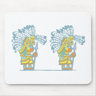 Two Teotihuacan Warriors #2 Mouse Pad