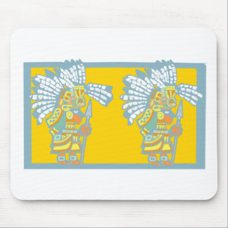 Two Teotihuacan Warriors #3 Mouse Pad