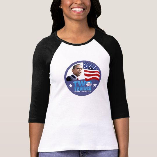 Two Terms for Obama / Biden 2012 T-Shirt