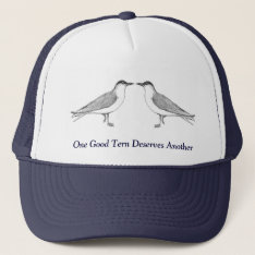 Two Terns Hat at Zazzle