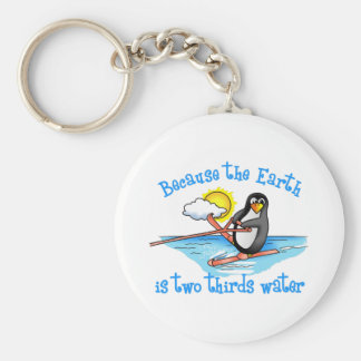 TWO THIRDS WATER KEYCHAIN