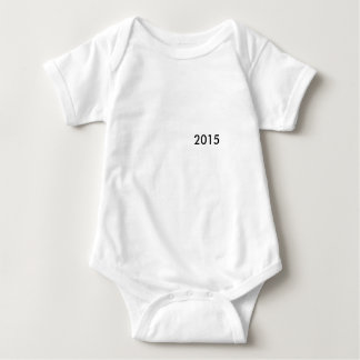 two thousand and fifteen baby bodysuit