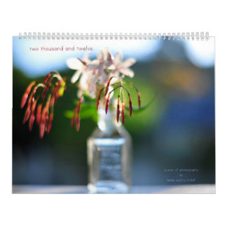 two thousand and twelve. calendar