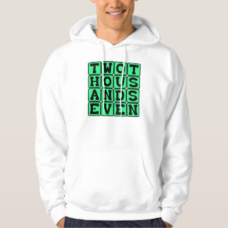 Two Thousand Seven, Year 2007 Hoodie