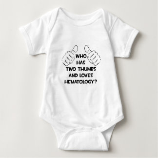 Two Thumbs and Loves Hematology Baby Bodysuit