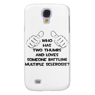 Two Thumbs and Loves Someone Battling MS Samsung Galaxy S4 Cover