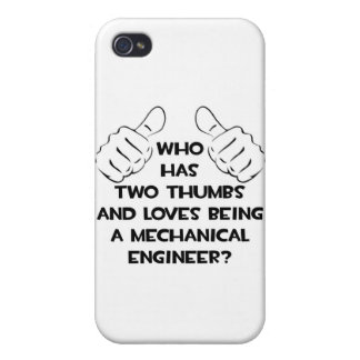Two Thumbs...Mechanical Engineer Covers For iPhone 4