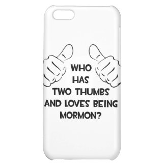 Two Thumbs .. Mormon Case For iPhone 5C