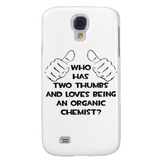 Two Thumbs .. Organic Chemist Samsung Galaxy S4 Cases