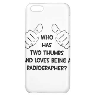 Two Thumbs .. Radiographer iPhone 5C Cases
