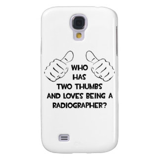 Two Thumbs .. Radiographer Samsung Galaxy S4 Cases