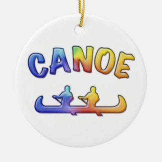 Two to Canoe Christmas Tree Ornaments