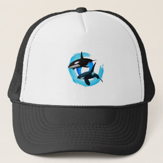 TWO TO CRUISE TRUCKER HAT