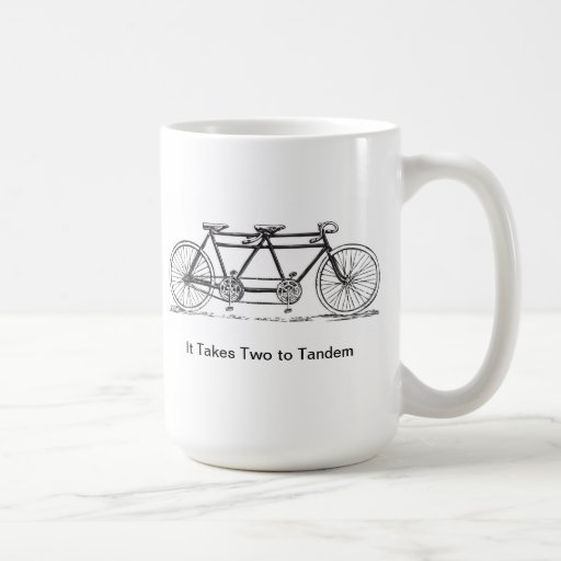 Two to Tandem Coffee Mugs